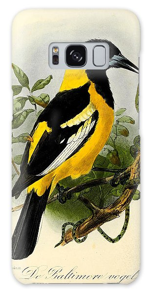 Baltimore Oriole Galaxy Case