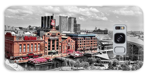 Baltimore Power Plant Color Black White Galaxy Case