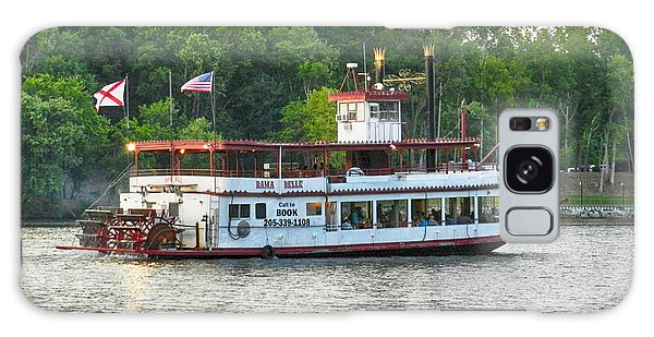 Bama Belle On The Black Warrior River Galaxy Case