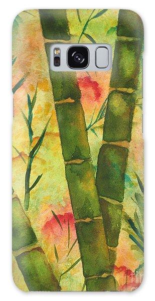 Bamboo Garden Galaxy Case by Chrisann Ellis