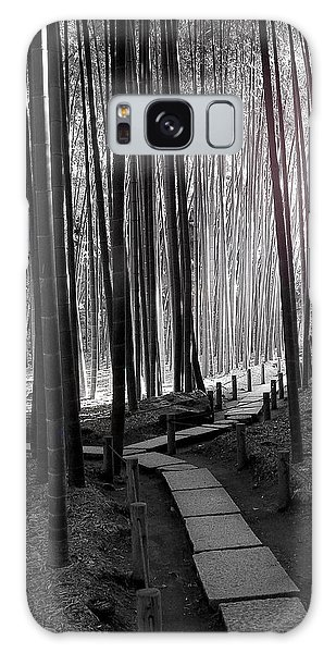 Bamboo Grove At Dusk Galaxy Case by Larry Knipfing