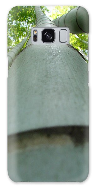 Bamboo Grove In Morning Galaxy Case by Larry Knipfing