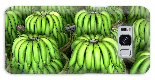 Banana Bunch Gathering Galaxy Case by Douglas Barnett