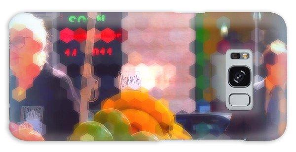 Banana - Street Vendors Of New York City Galaxy Case by Miriam Danar