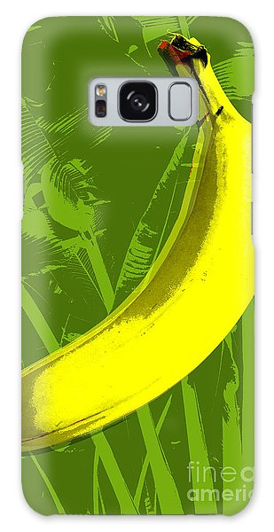 Banana Pop Art Galaxy Case by Jean luc Comperat