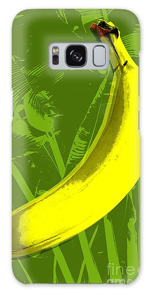 Banana Pop Art Galaxy Case