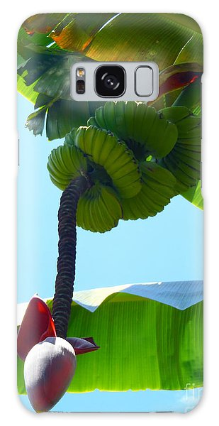 Banana Stalk Galaxy Case by Carey Chen