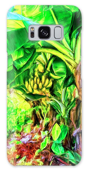 Bananas In Lahaina Maui Galaxy Case