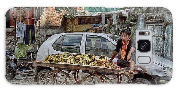 Bananas Galaxy Case by John Hoey