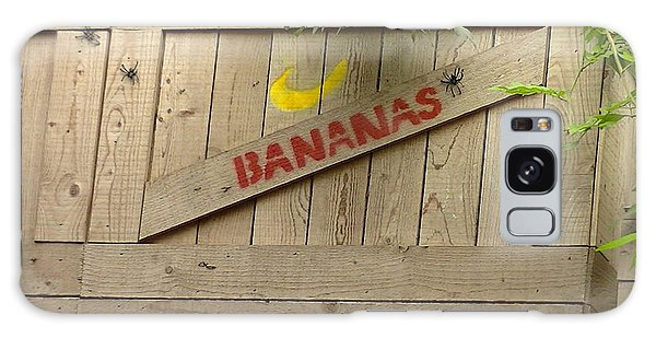 Bananas Galaxy Case
