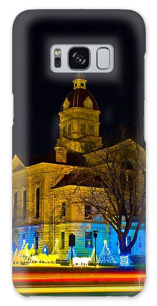 Bandera County Courthouse Galaxy Case