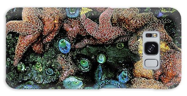 Bandon Beach Oregon Pacific Tidal Pool Galaxy Case