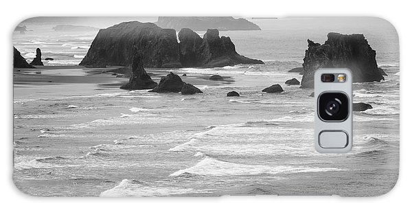 Bandon Sea Stacks Galaxy Case