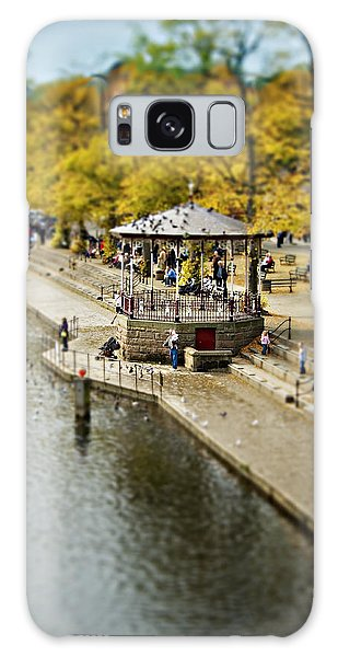Bandstand In Chester Galaxy Case by Meirion Matthias