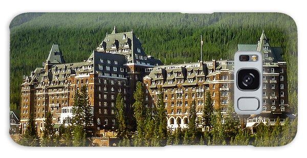 Banff Springs Hotel Galaxy Case by Richard Farrington