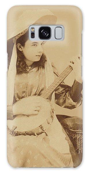 Banjo Girl 1880s Galaxy Case