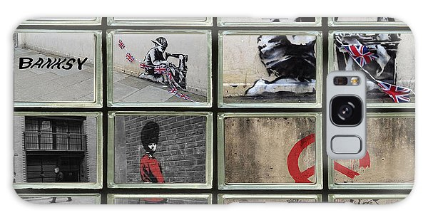 Banksy Street Art Galaxy Case