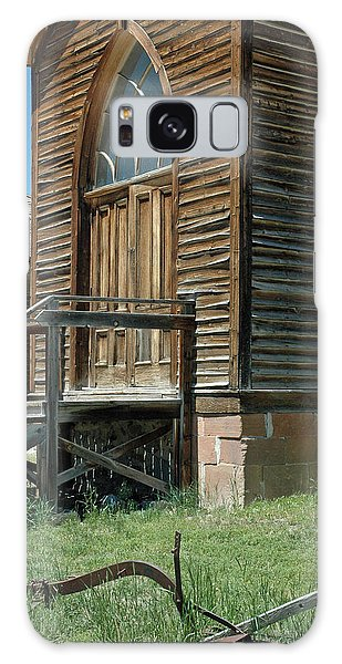 Bannack Church Galaxy Case