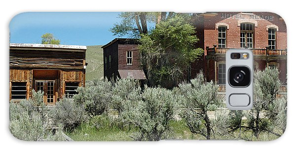 Bannack Montana's Hotel Meade Galaxy Case