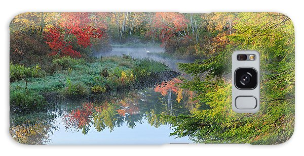 Bantam River Autumn Galaxy Case