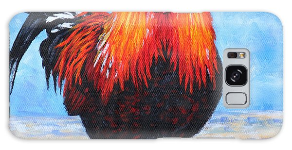 Bantam Rooster Galaxy Case