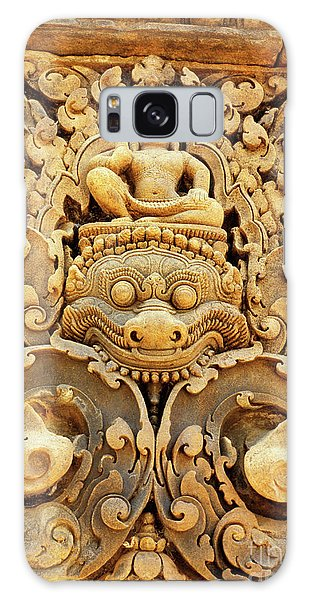 Banteay Srei Carving 01 Galaxy Case