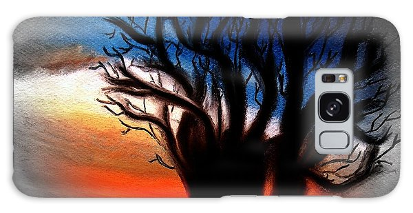 Baobab Tree 2 Galaxy Case by Ayasha Loya