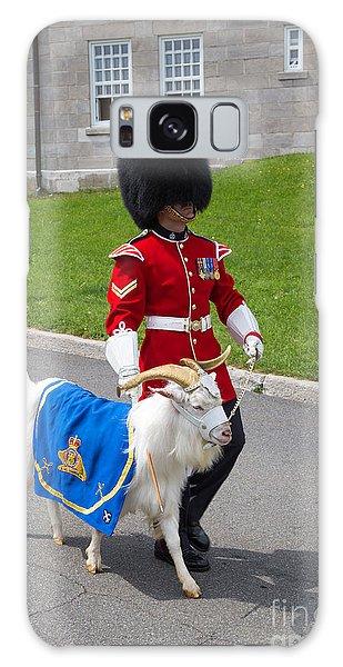 Quebec City Galaxy Case - Baptiste The Goat by Edward Fielding