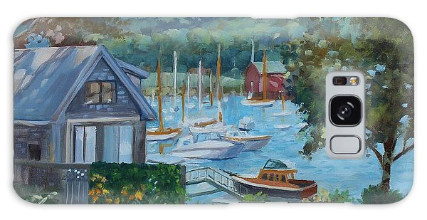 Bar Harbor Maine Galaxy Case