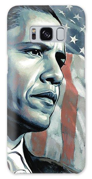 Barack Obama Artwork 2 B Galaxy Case