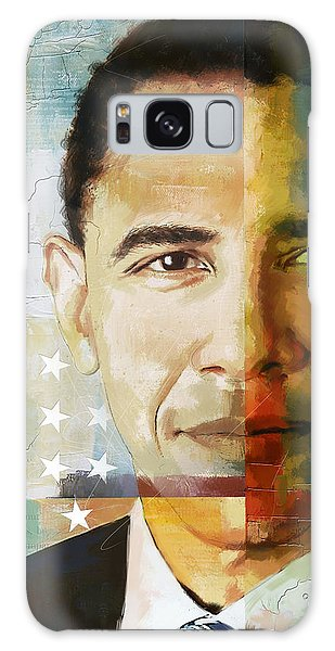 Barack Obama Galaxy Case - Barack Obama by Corporate Art Task Force