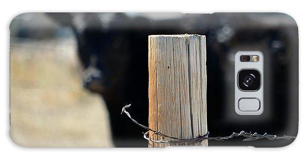 Barbed Wire Around Galaxy Case by Clarice  Lakota