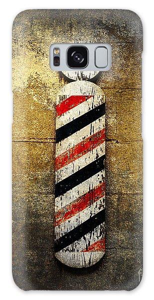 Barber Pole Galaxy Case