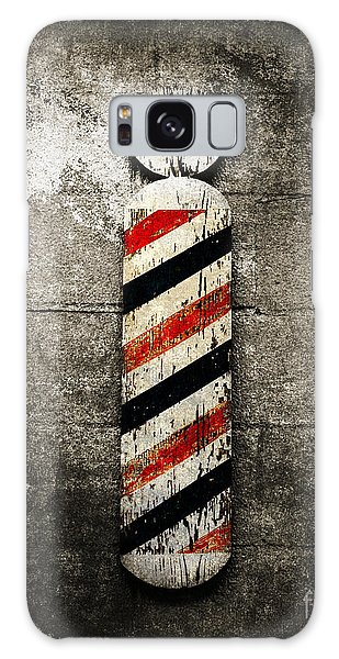 Barber Pole Selective Color Galaxy Case