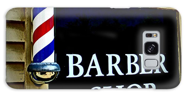 Barber Shop Galaxy Case