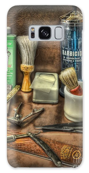 Barber Shop Tools  Galaxy Case