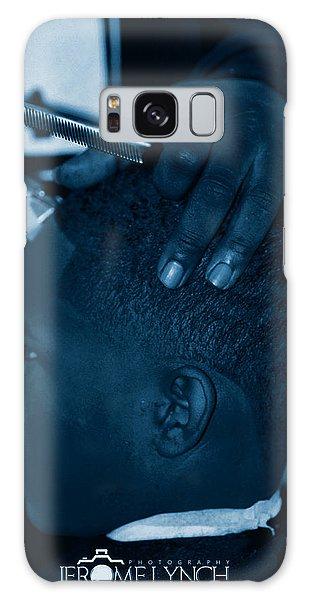Barbershop  Art Galaxy Case