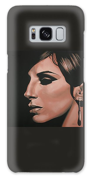 Barbra Streisand Galaxy Case by Paul Meijering