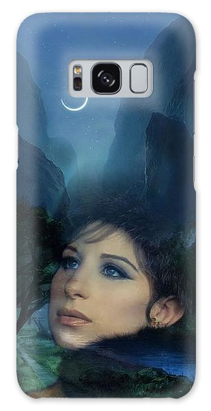 Barbra's Smiling Moon Galaxy Case