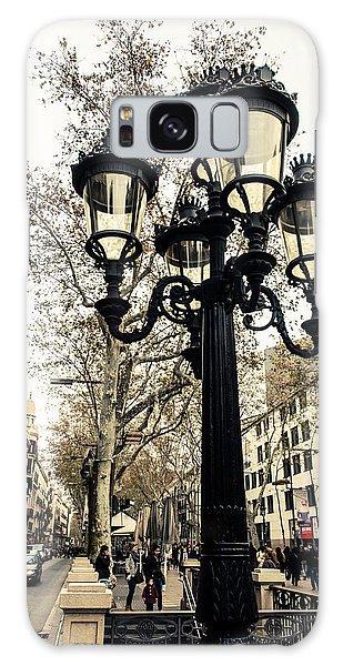 Barcelona - La Rambla Galaxy Case