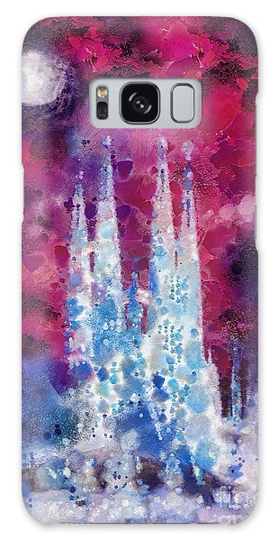 Mo Galaxy Case - Barcelona Night by Mo T