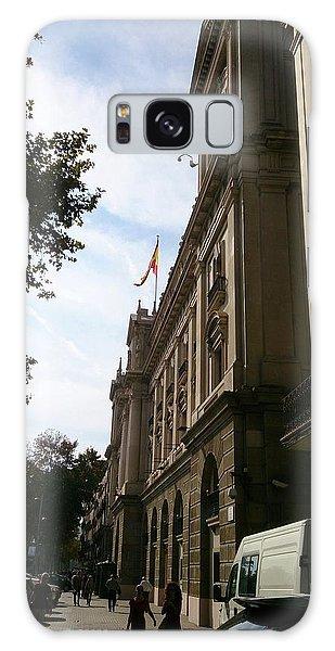 Barcelona Street Galaxy Case