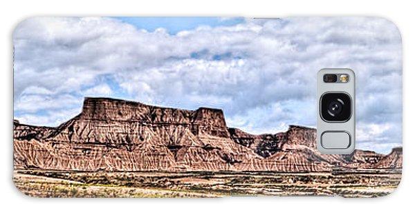 Bardenas Desert Panorama 1 Galaxy Case
