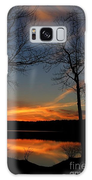 Bare Trees Vertical Galaxy Case