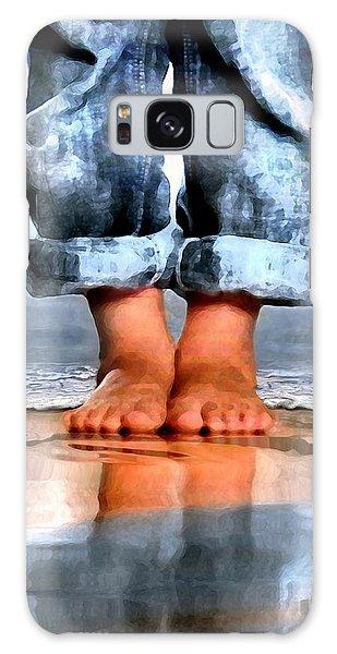 Barefoot Boy   Galaxy Case