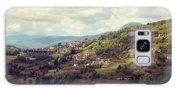 Barga In Alpi Apuane Mountains Tuscany Galaxy Case