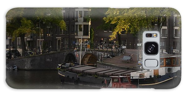 barges in Amsterdam Galaxy Case