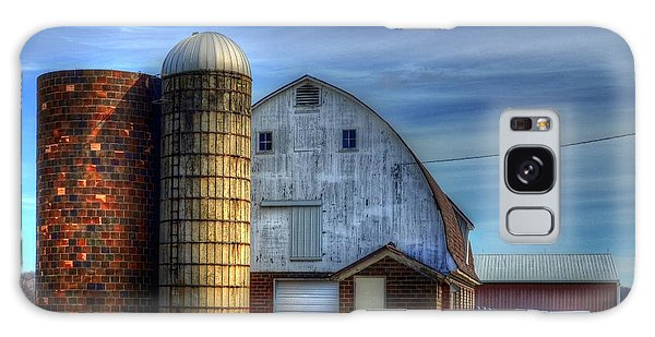 Barn And Silos Galaxy Case