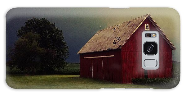Barn And Tree Galaxy Case by Tim Good