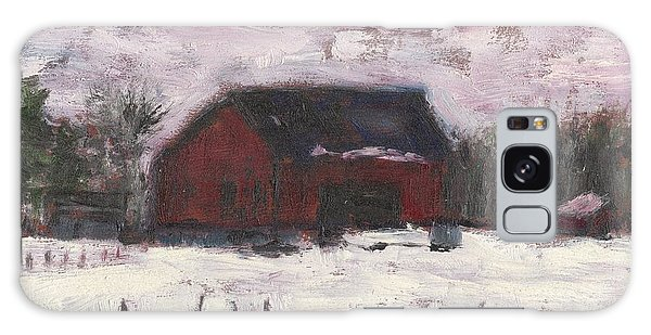Barn At Myles Acres Galaxy Case by David Dossett